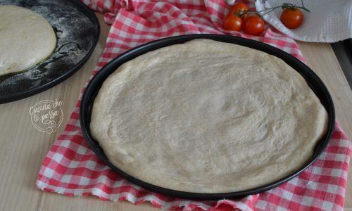 Impasto pizza 1 g di lievito