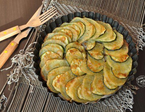 Patate e zucchine gratinate
