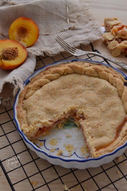 Peach Pie - Torta di pesche