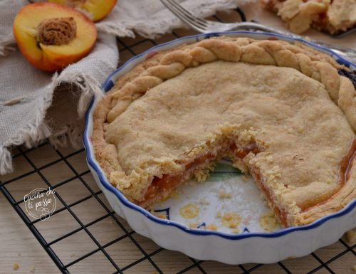 Peach Pie – Torta di pesche