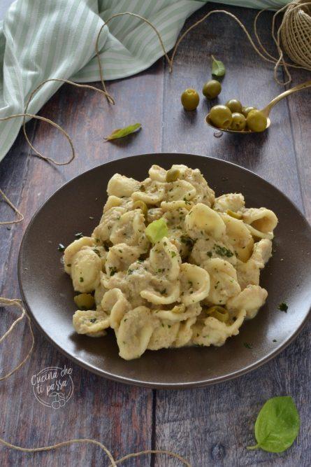 Orecchiette con tonno ed olive