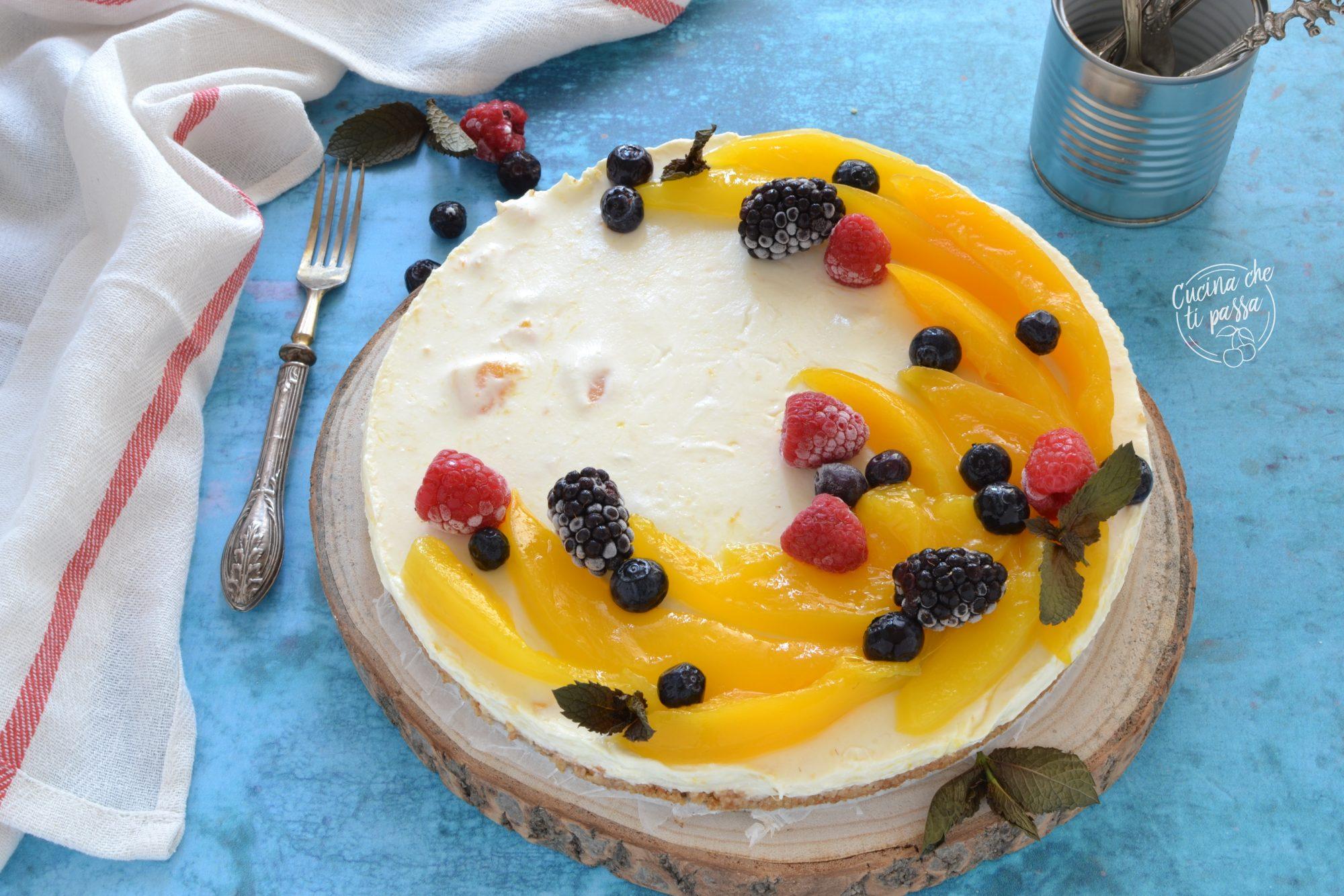 Ricetta Cheesecake al mango