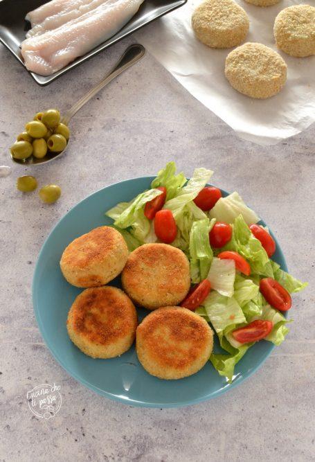 Polpette di platessa e olive