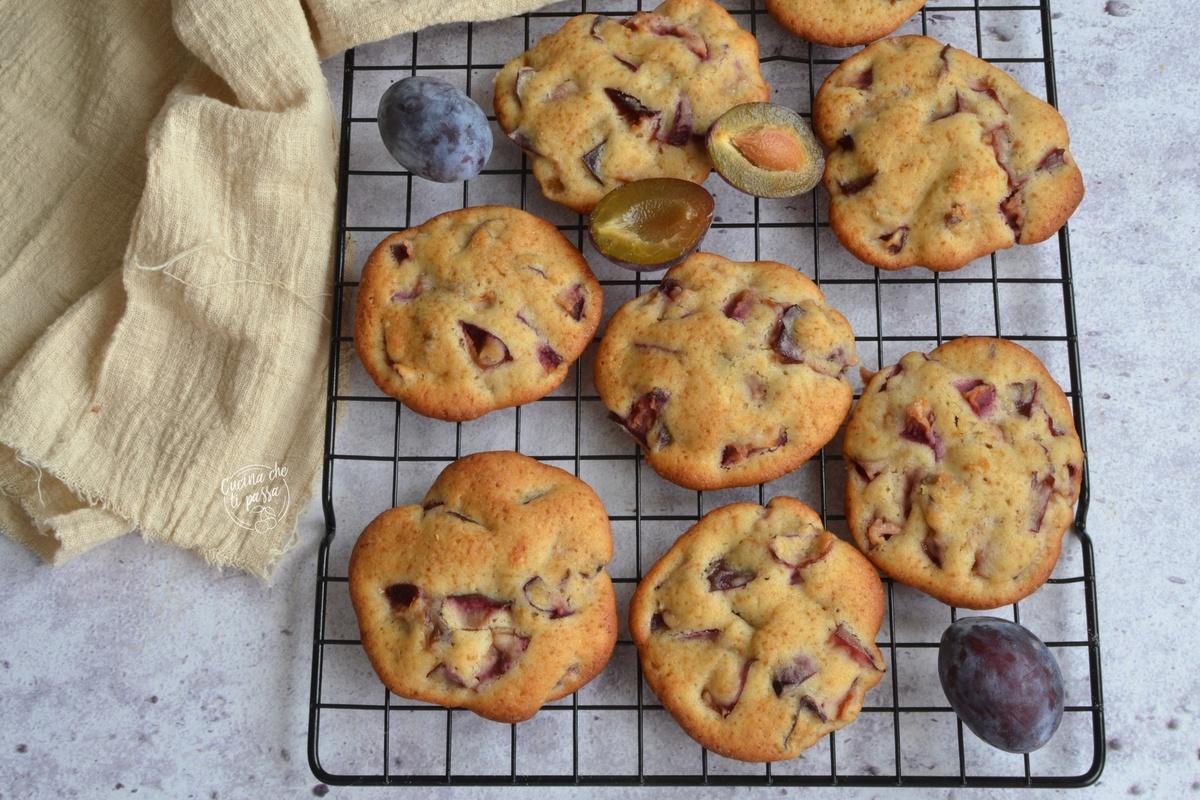 Biscotti alle prugne ricetta