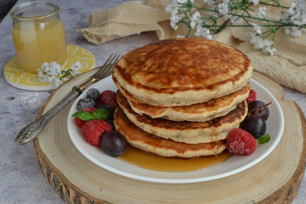 Pancakes ai 5 cereali ricetta
