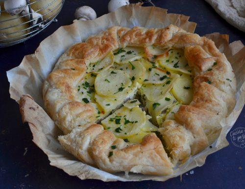 Torta salata ricotta e patate