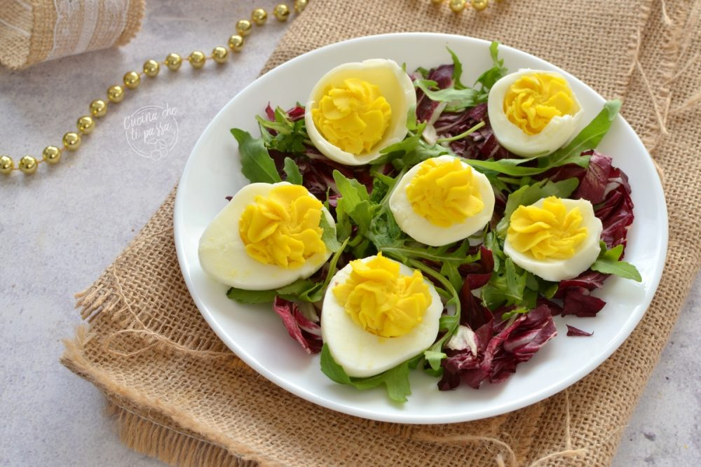 Uova con maionese