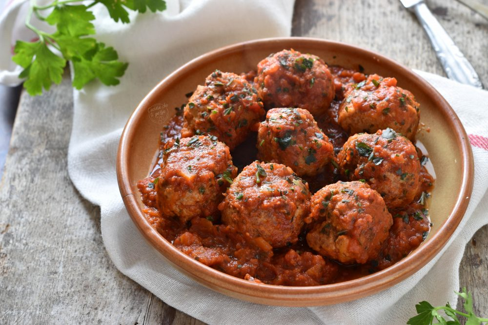 Polpette di carne al sugo ricetta