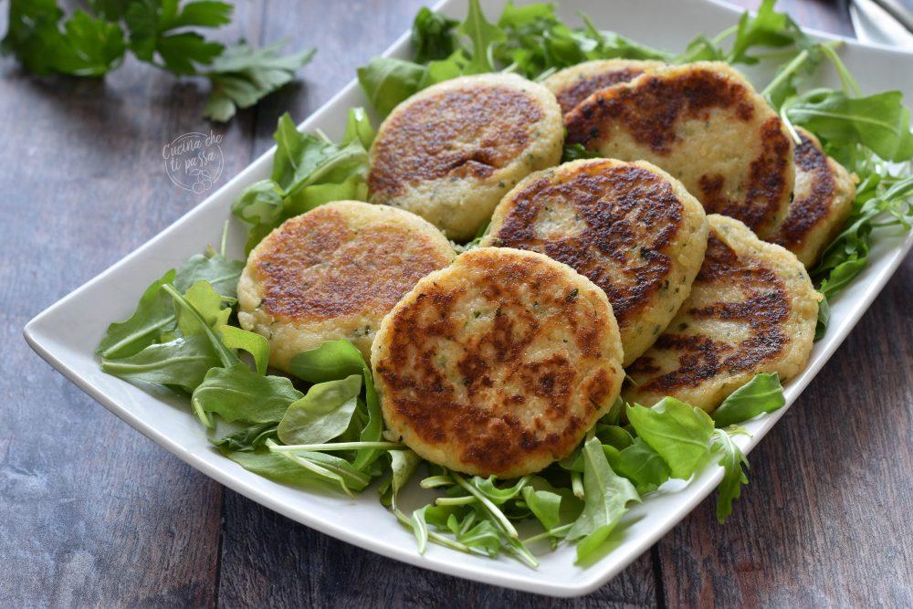 Polpette di patate e prezzemolo ricetta