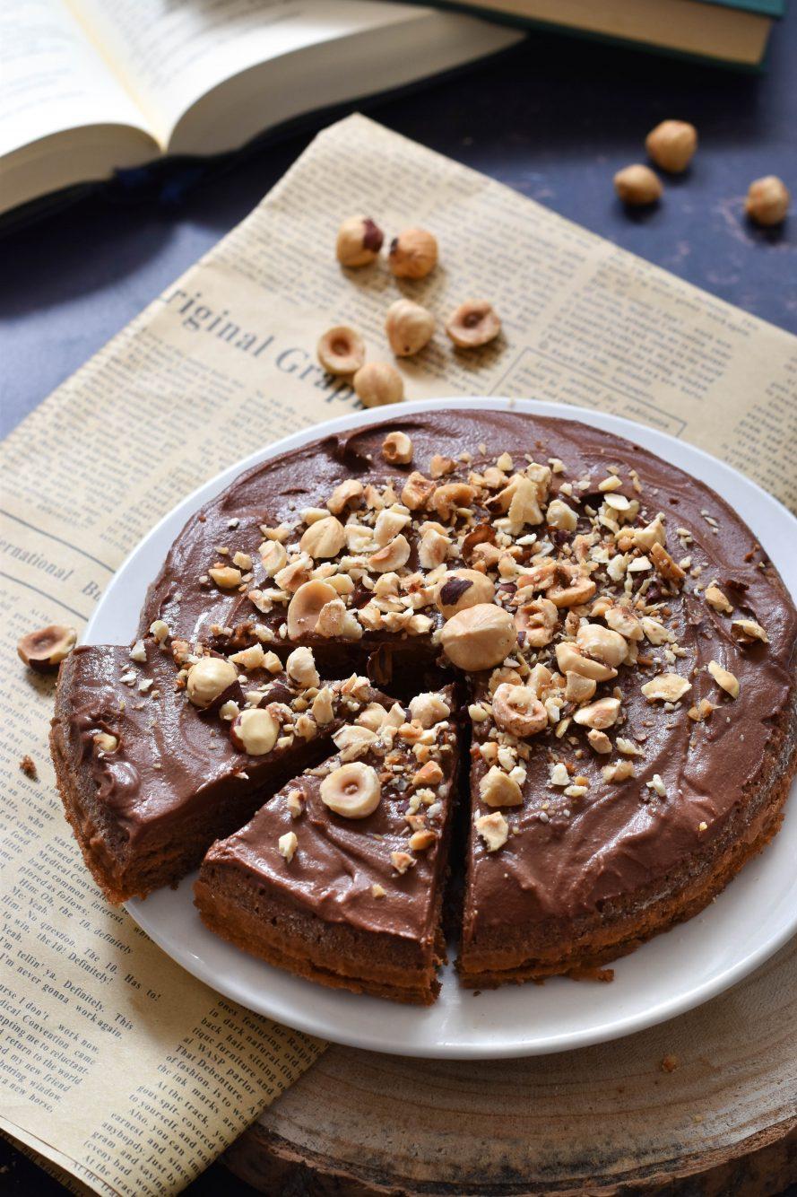 Torta cioccolato e nocciole ricetta