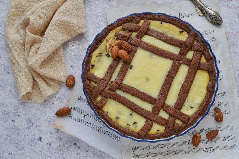 crostata ricotta e mandorle ricetta