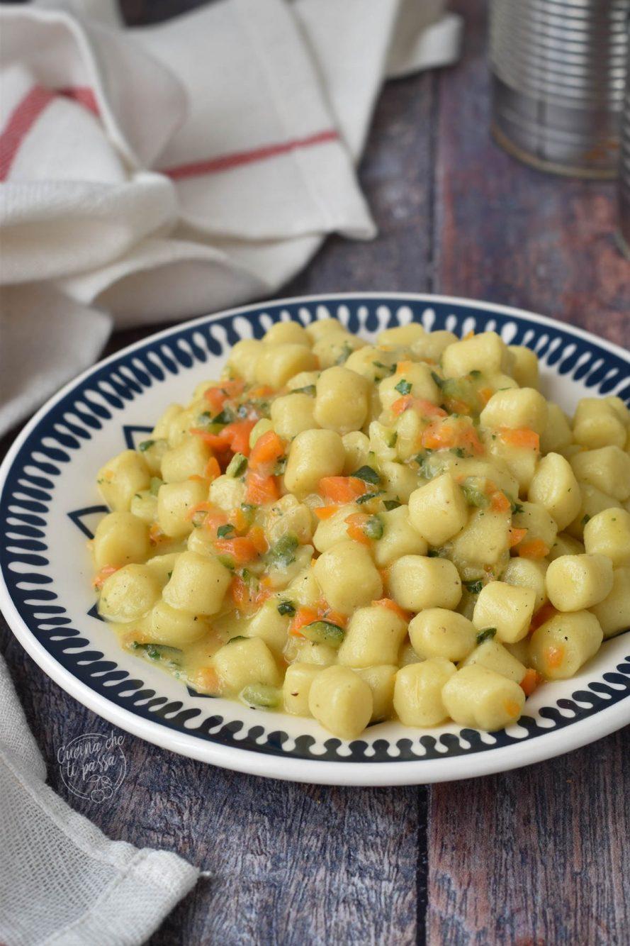 Gnocchi zucchine e