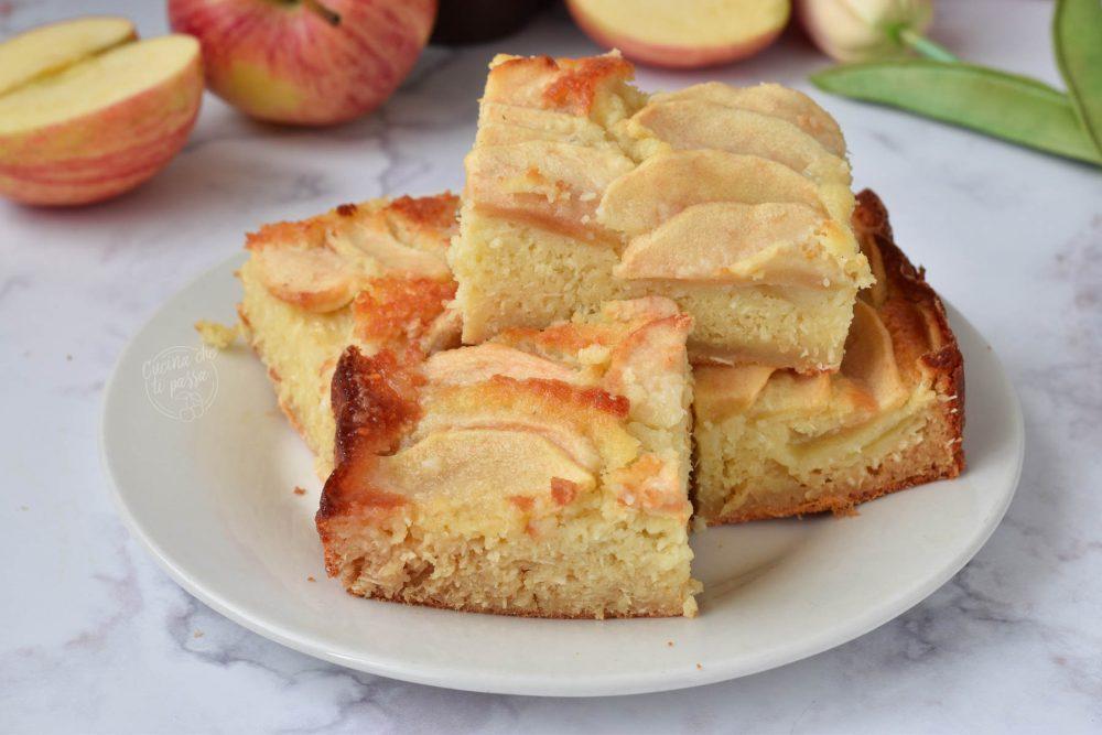 Torta di mele e cocco ricetta