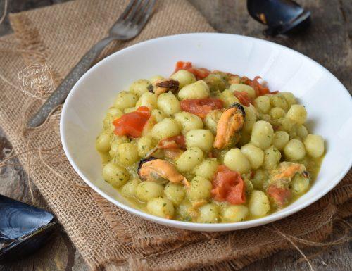 Gnocchi cozze e zucchine