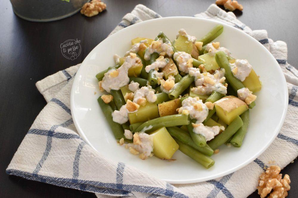 insalata di fagiolini e noci ricetta