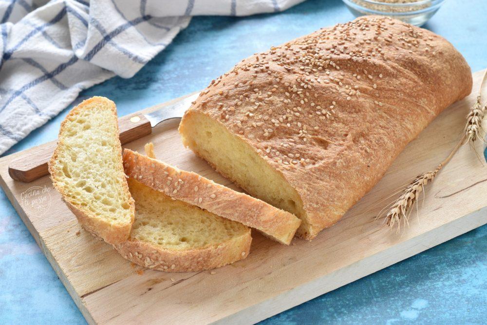 pane siciliano con sesamo ricetta