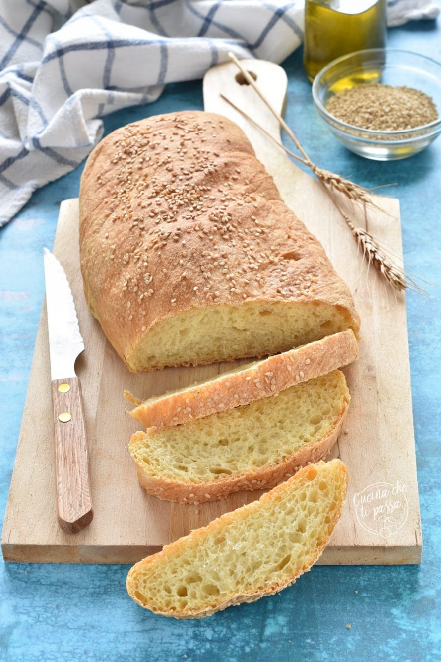 pane siciliano con sesamo