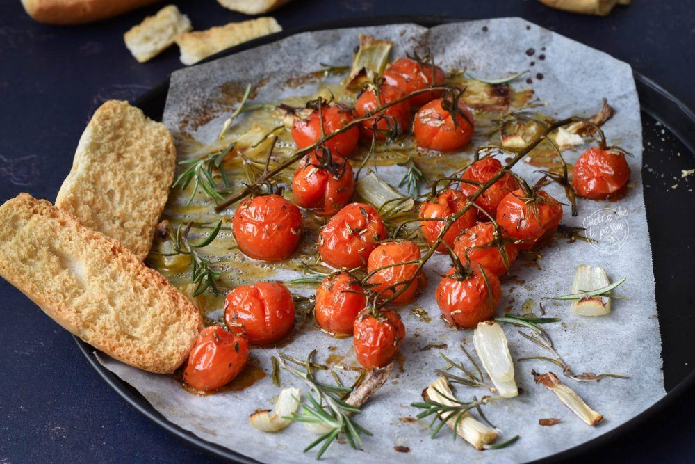 pomodorini confit veloci ricetta