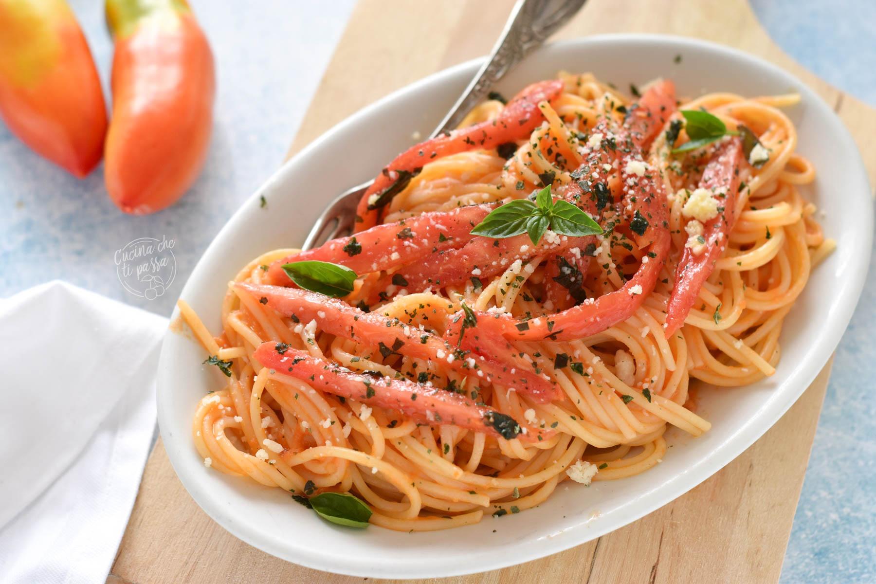 Spaghetti risottati al SAN MARZANO