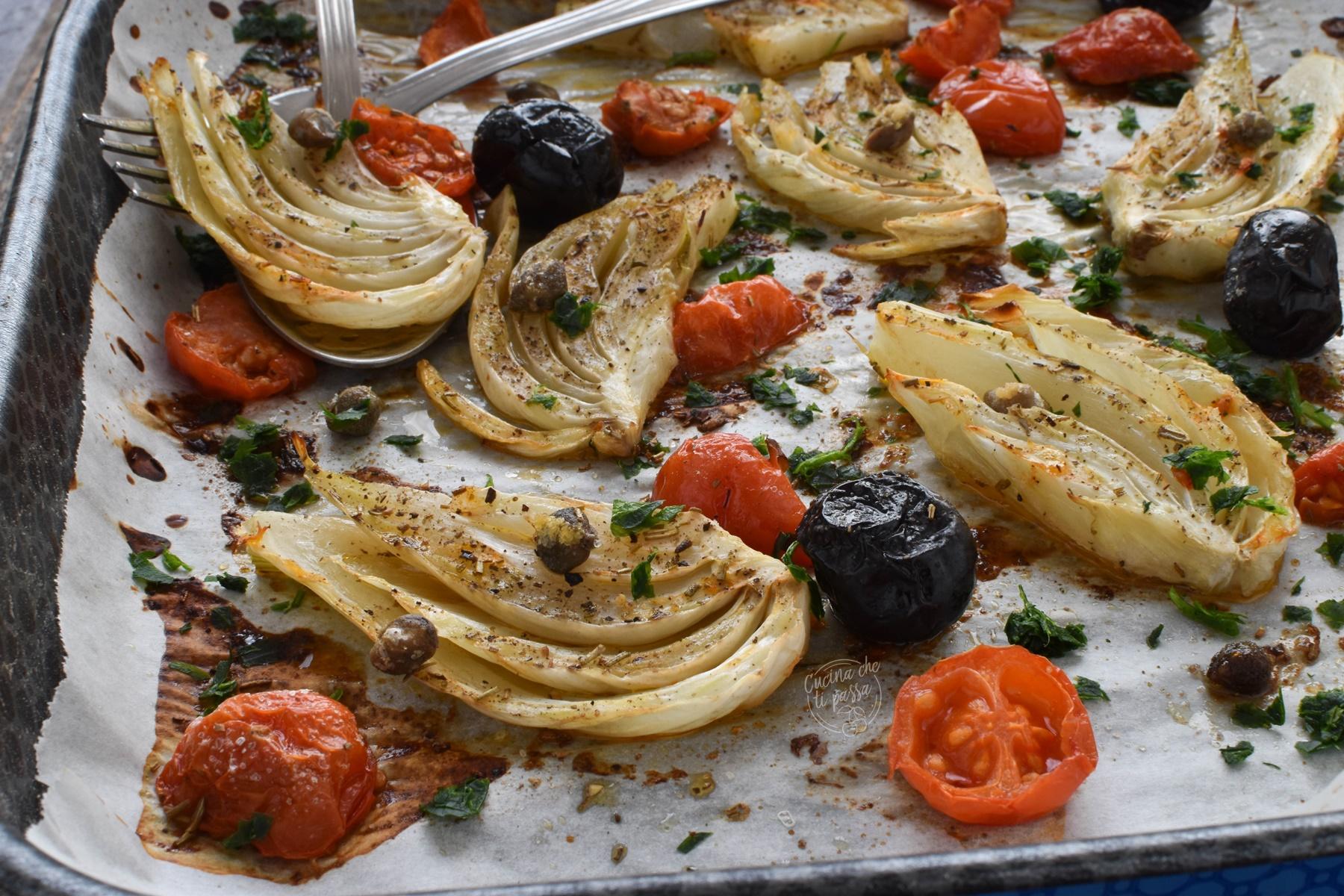 Finocchi alla mediterranea ricetta