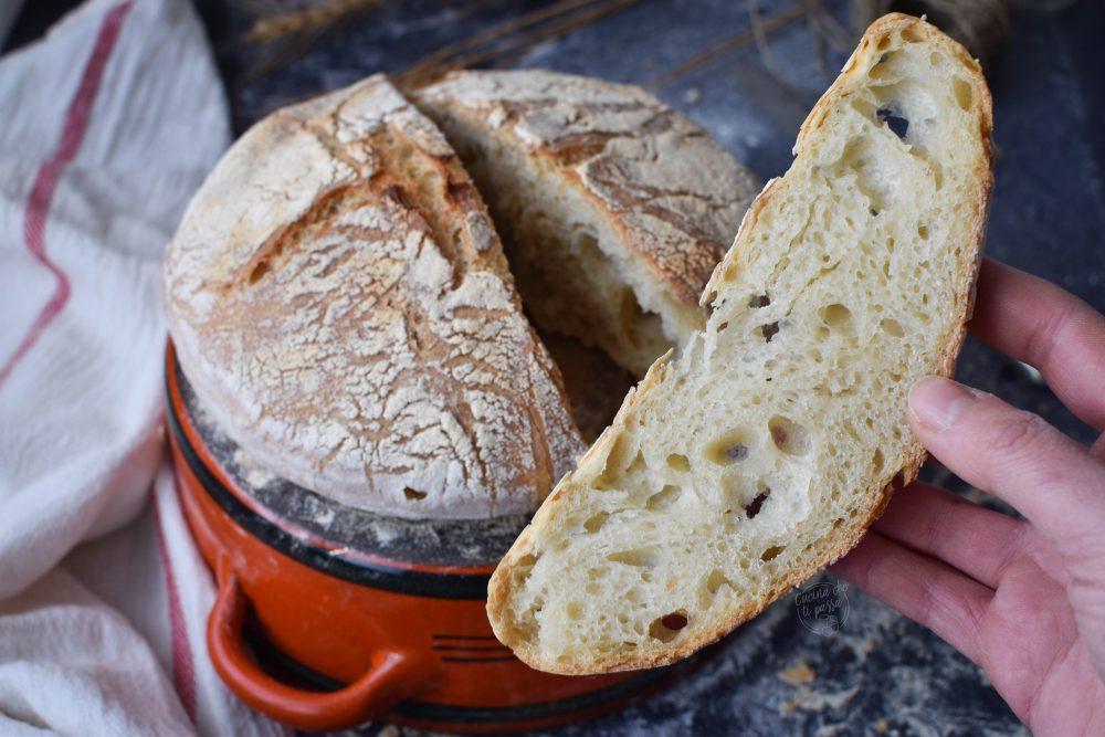 pane senza impasto in pentola ricetta