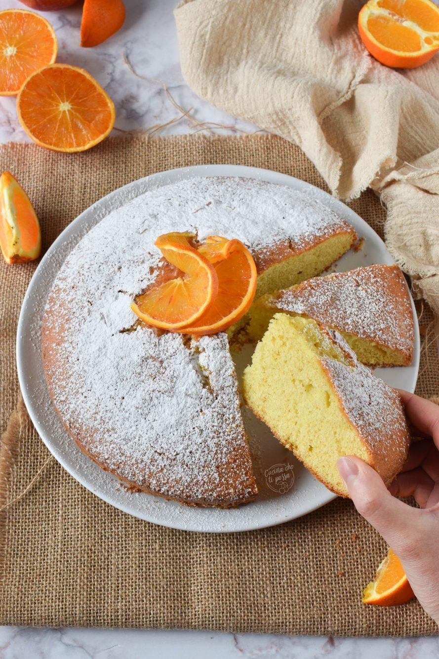 torta margherita all'arancia