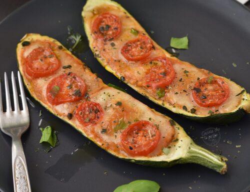 Zucchine alla pizzaiola al forno