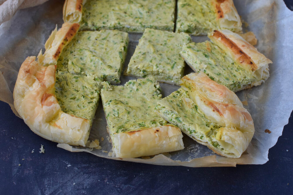 pasta sfoglia con zucchine e ricotta ricetta