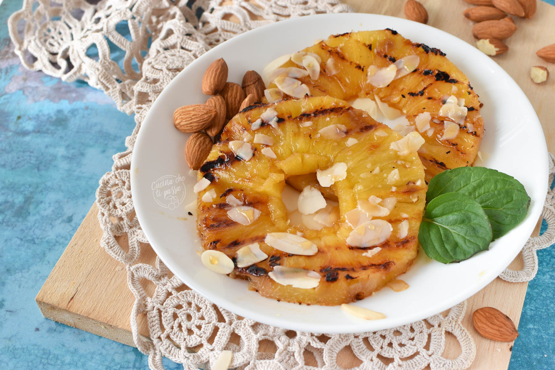 ananas grigliato ricetta