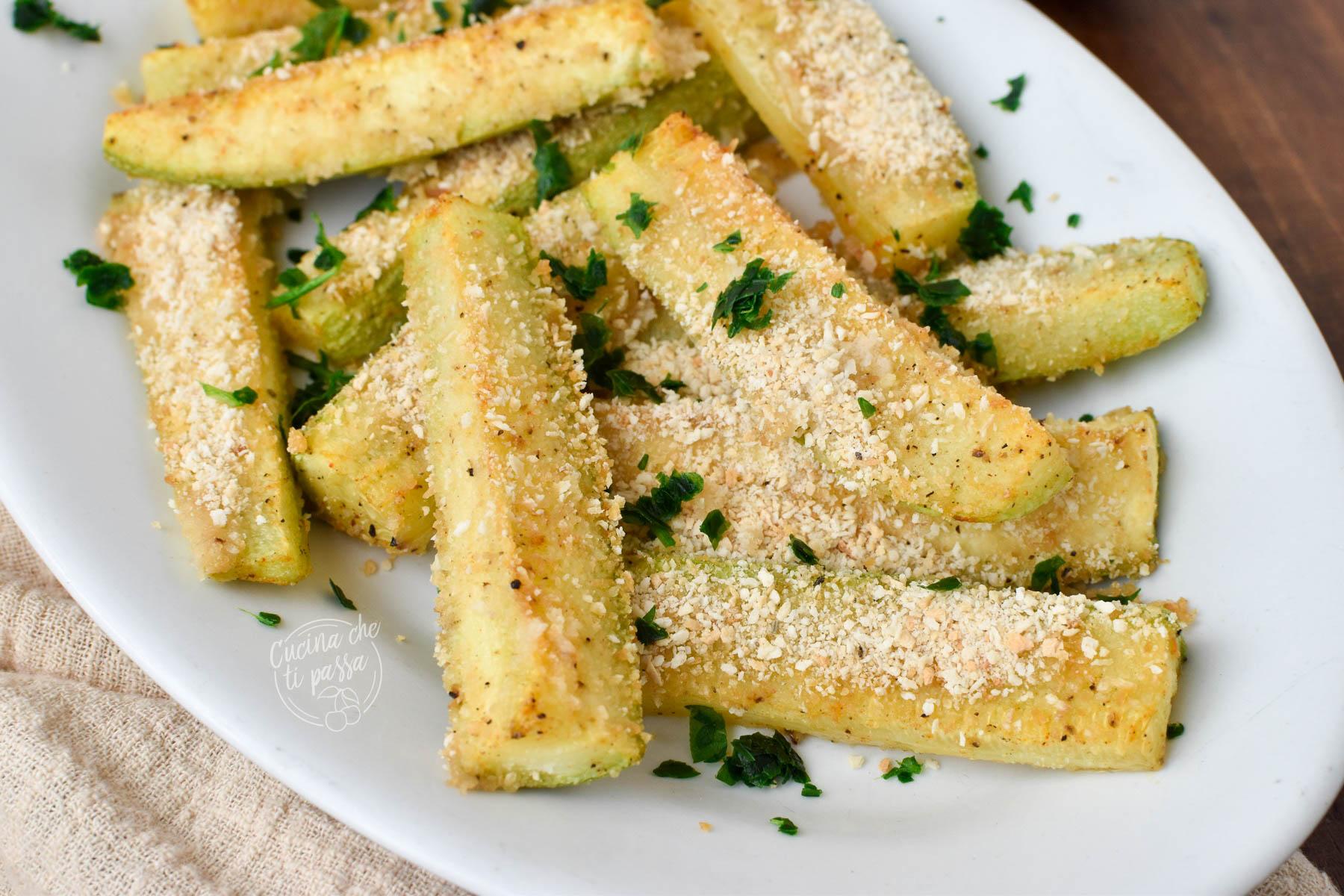 zucchine gratinate al forno ricetta