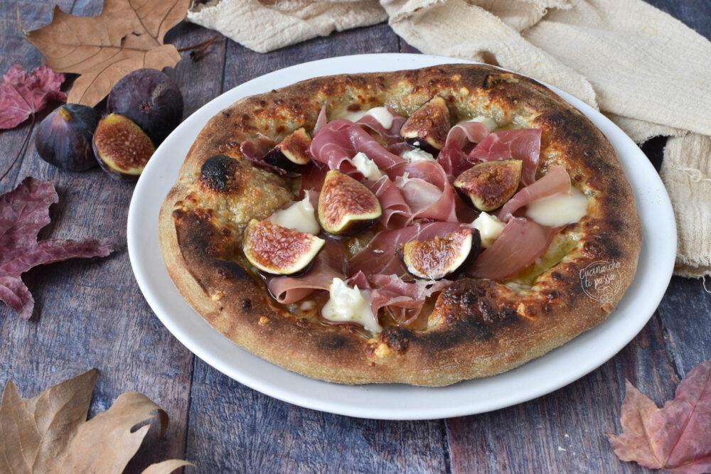 pizza prosciutto e fichi ricetta