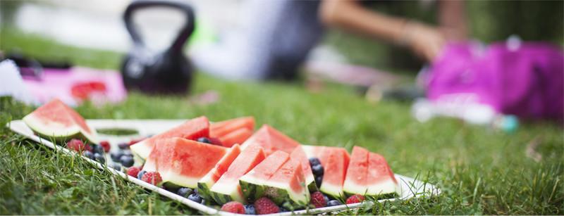 Anguria frutta per la spesa di luglio