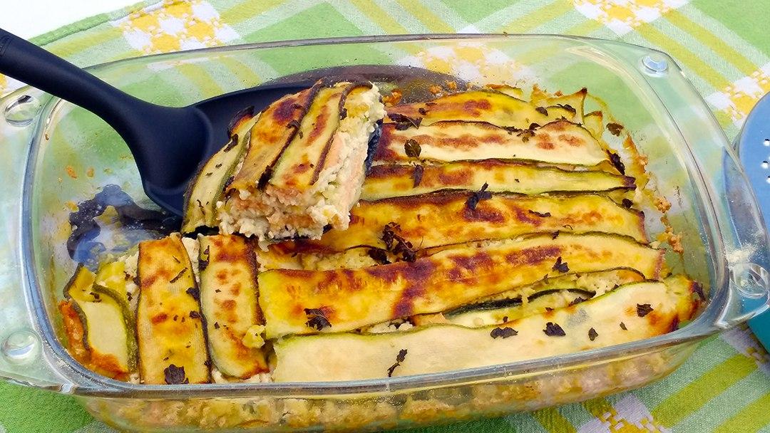 zucchine alla parmigiana bianca