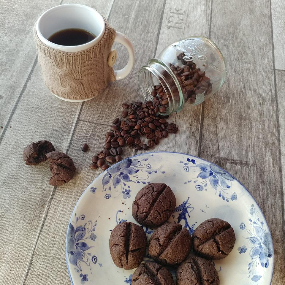 BISCOTTI AL CAFFE' SENZA GLUTINE