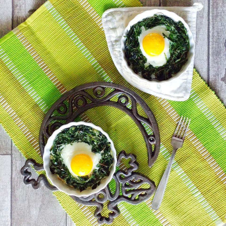 uova con verdure al forno