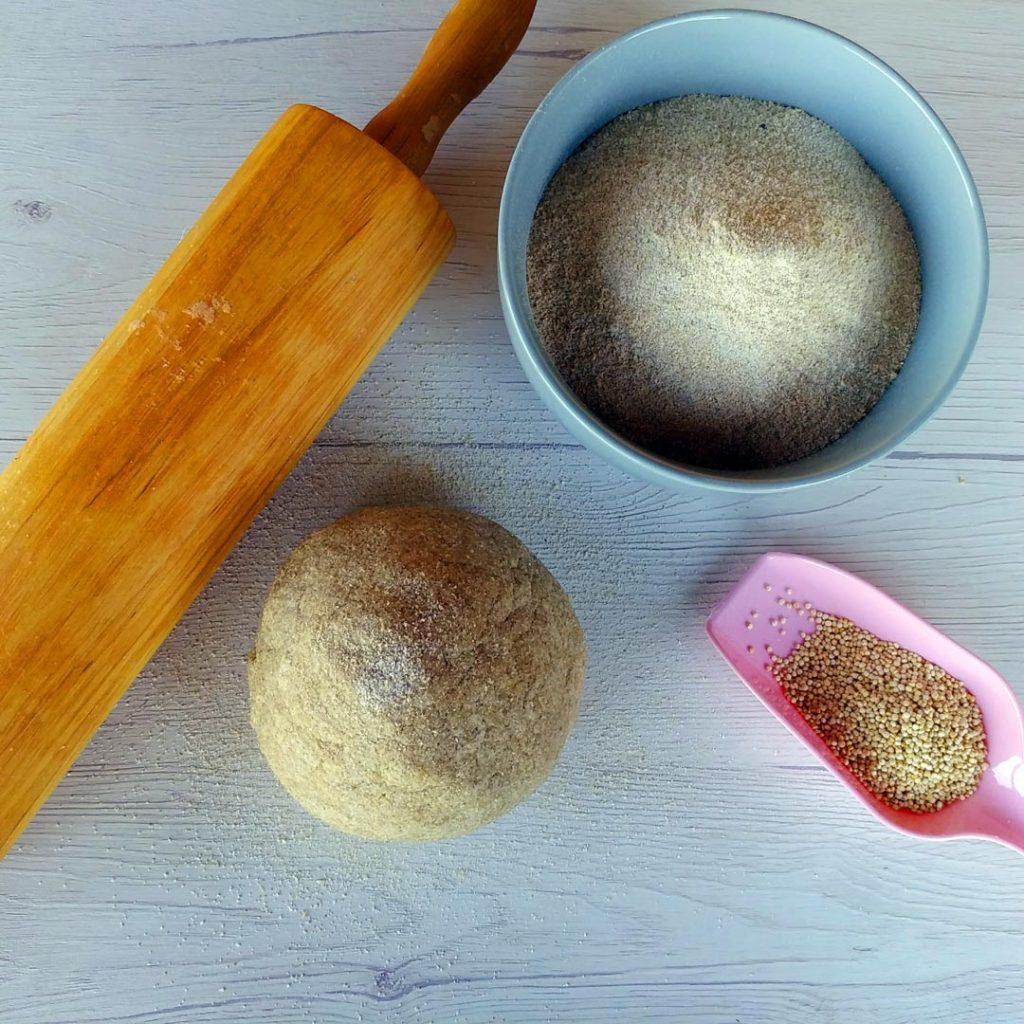 Ricetta Pasta Con Farina Di Quinoa.Pasta Brise Con Farina Di Quinoa Cucina Con Cinzia