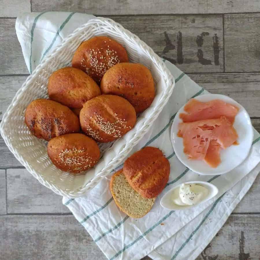 panini con farina di lenticchie