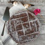 Crostata con crema pasticcera al cioccolato