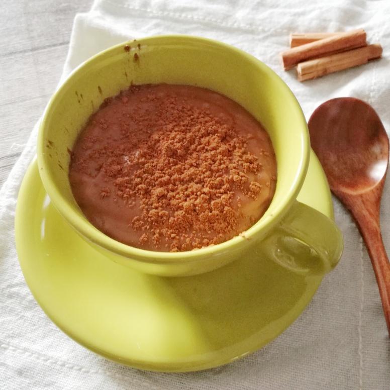 cioccolata calda con farina di castagne