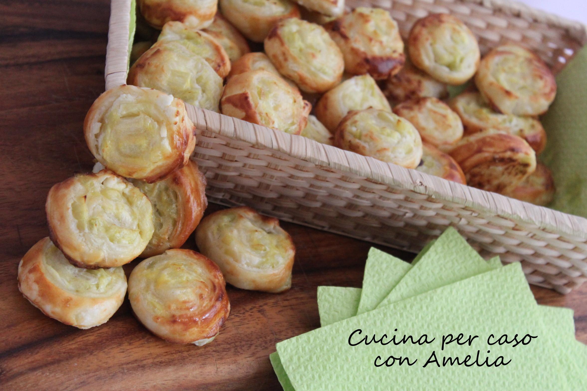 Salatini ai porri, ricetta finger food / Cucina per caso con Amelia
