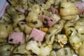 Pasta con prosciutto e pistacchi, ricetta