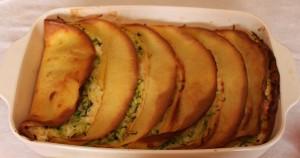 Crespelle con zucchine e crema al basilico, Cucina per caso con Amelia