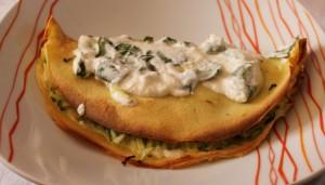 Crespelle con zucchine e crema al basilico Cucina per caso con Amelia