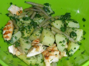 Pollo patate e fagiolini, ricetta light Cucina per caso con Amelia