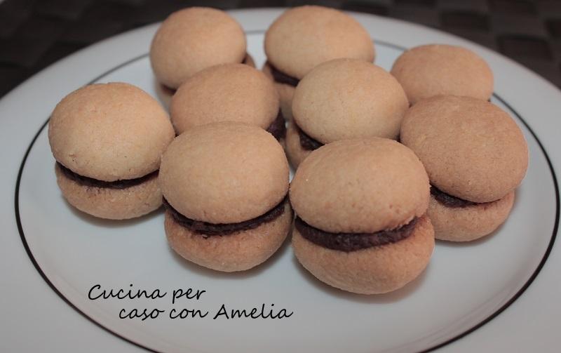 Baci di dama, ricetta dolce | Cucina per caso con Amelia