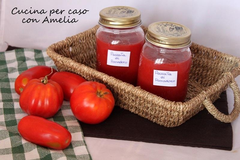Passata di pomodoro, ricetta base / Cucina per caso con Amelia