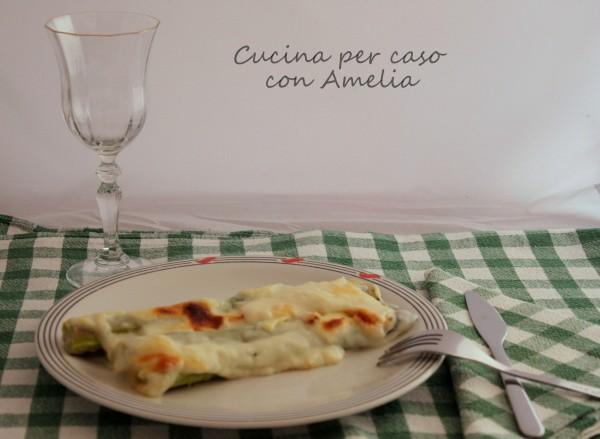 Pasticcio di asparagi, ricetta | Cucina per caso con Amelia