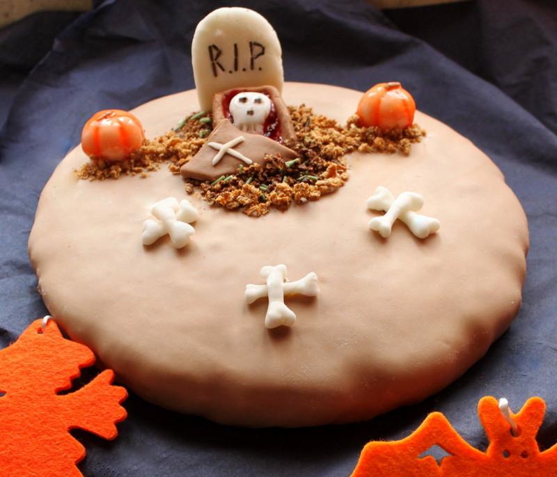Torta halloween, ricetta con farina di castagne | Cucina per caso ...