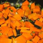 Torta salata zucca e robiola, ricetta Halloween cucina per caso con Amelia