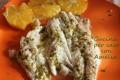 Branzino al forno all' arancia, ricetta